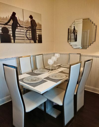 Robert The Bruce Apartment Dining Room